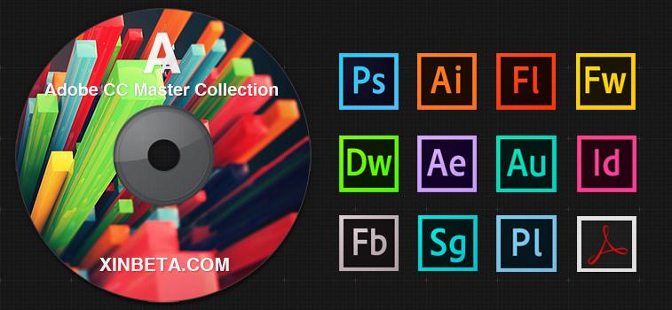 Xinbeta Adobe CC Master Collection 大师版 v1.0 发布