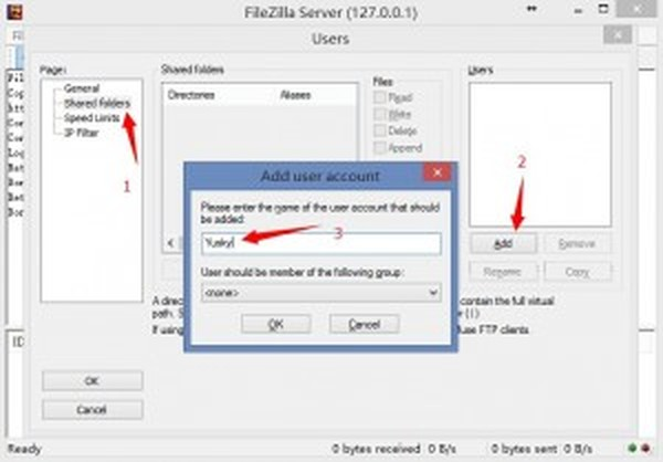 FileZilla_Server_Add_User