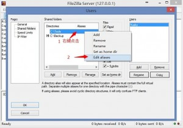 FileZilla_Server_Setting_Dir_Ali