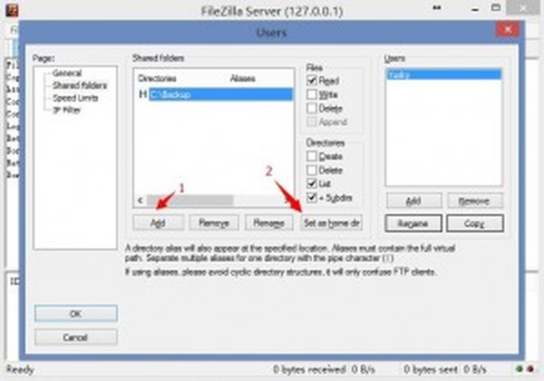 FileZilla_Server_Setting_Home_Dir